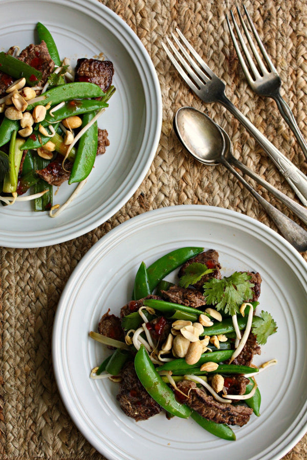 Beef and Snap Peas Stir-Fry | Wozz! Kitchen Creations