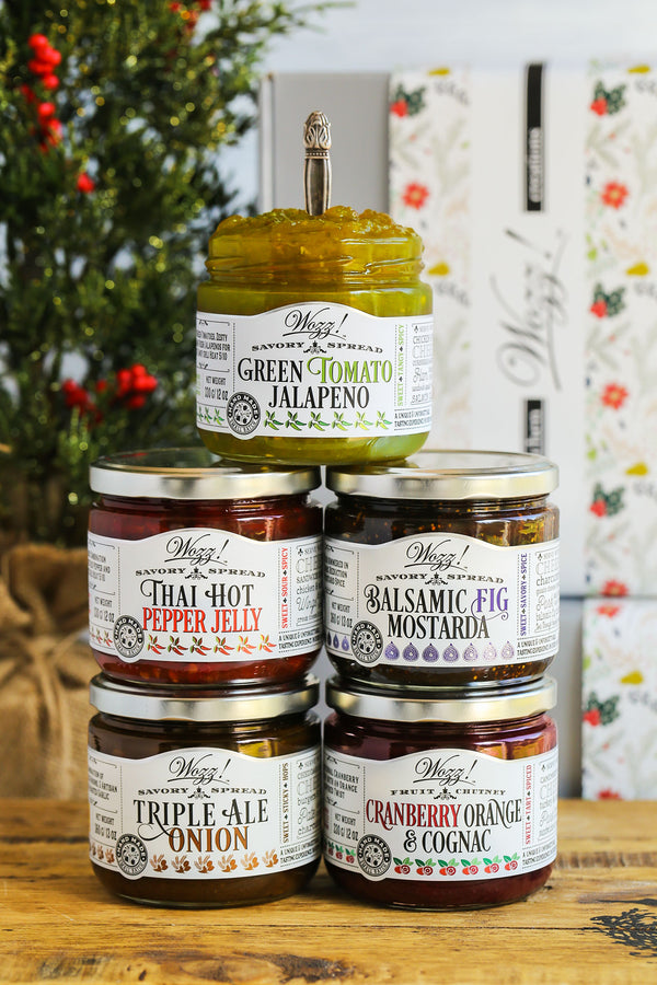 Favorite Holiday Condiments Gift Set