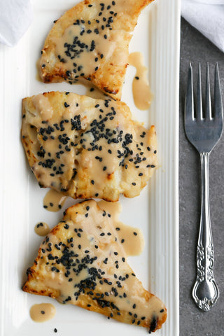 Broiled Cod with Japanese Sesame Miso Sauce | Wozz! Kitchen Creations