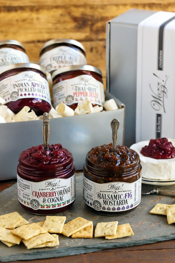 Spreads and Jams For Cheese Gift Set | Cheese Pairing Gift Set | Condiments For Cheese Gift