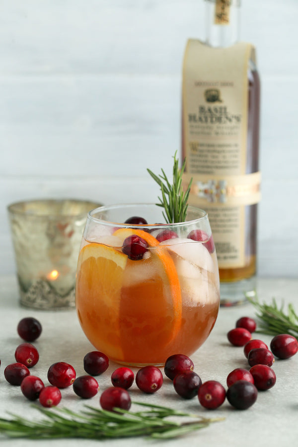 Cranberry Orange Bourbon Cocktail