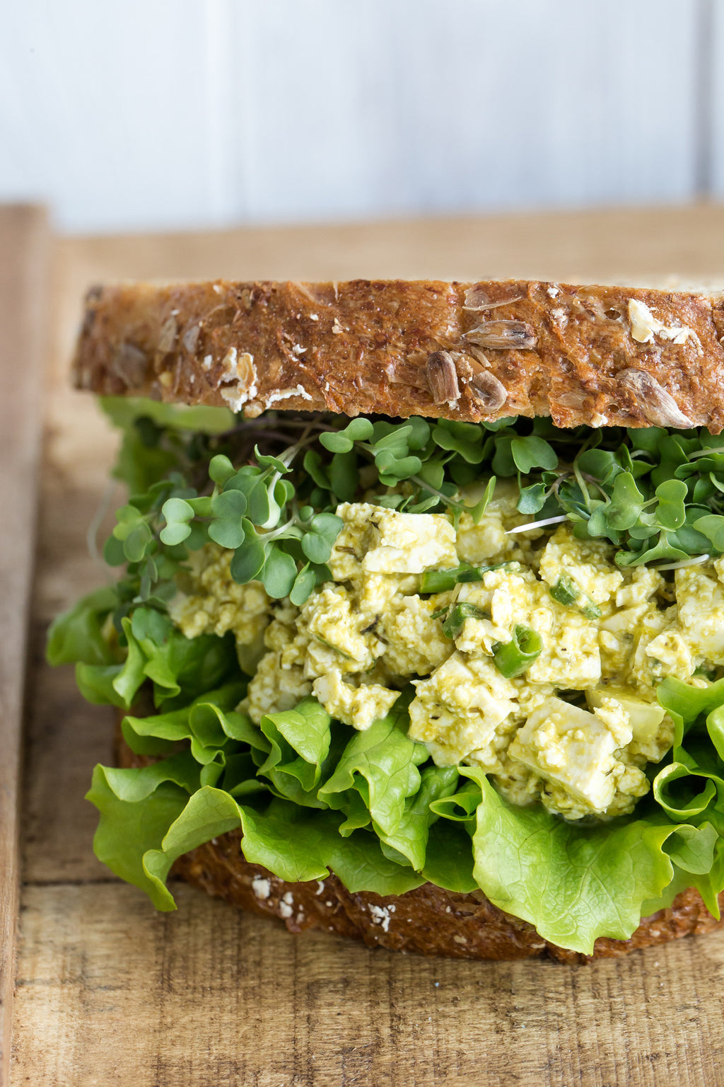 "Vegan ""Egg"" Salad Sandwich 