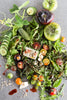 Garden Salad with Spiced Beet Vinegar | Wozz! Kitchen Creations