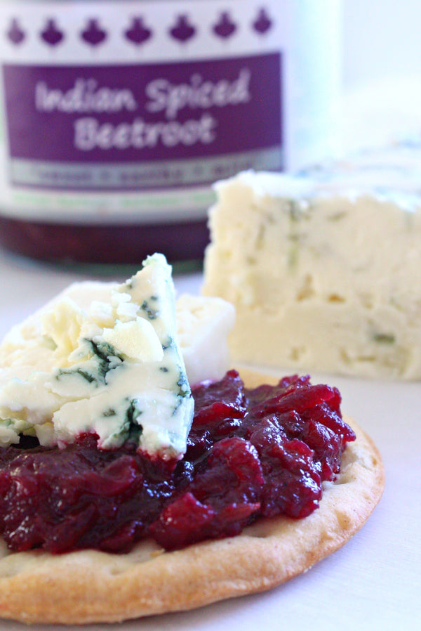 Indian Beet Spread | Blue Cheese and Beet Spread | Wozz! Kitchen Creations