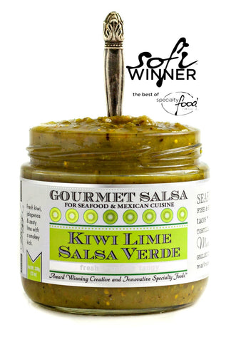 Kiwi Lime Salsa Verde | Wozz! Kitchen Creations