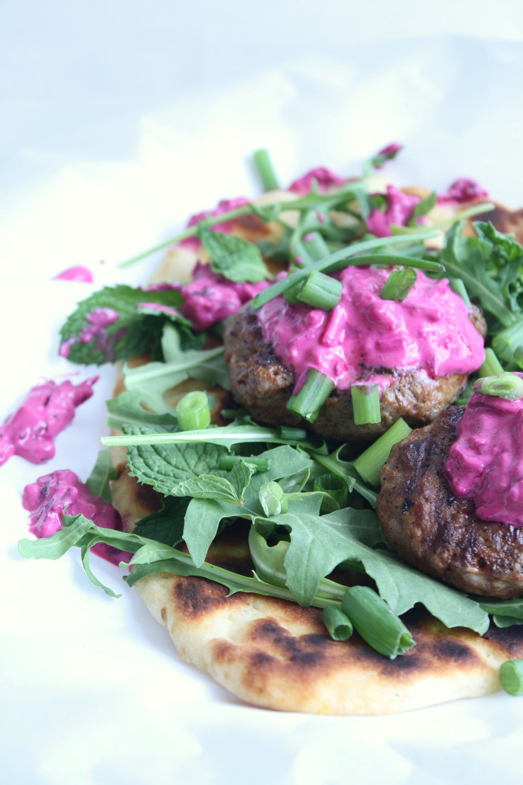 Lamb Gyros | Beet Tzatziki | Wozz! Kitchen Creations | Recipes