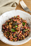 Lentil Salad with Herbs, Kale and Pickled Beet Vinaigrette