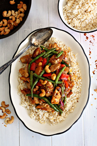 Spicy Mango Chutney Chicken Stir-Fry