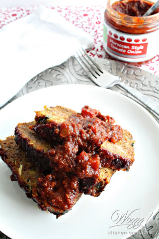 Moroccan Meatloaf Recipe | Wozz! Kitchen Creations