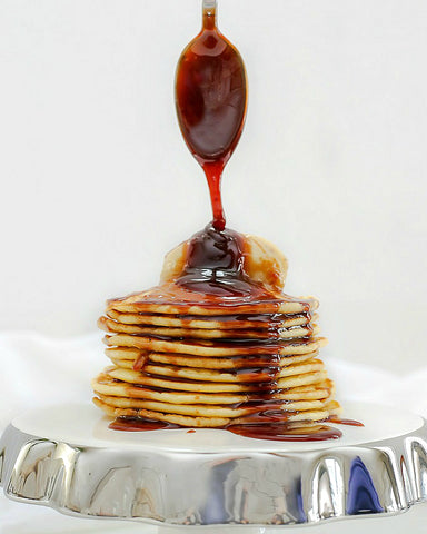 Pancakes with Rum Sauce