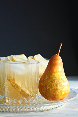 Pear Ginger Rum Cocktails