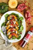 Roasted Squash Salad with Cranberry Vinegar | Wozz! Kitchen Creations