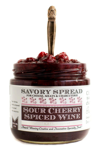 Sour Cherry Spiced Wine Spread | Wozz! Kitchen Creations