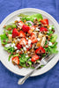 Strawberry Salad with Grilled Chicken and Pecans | Wozz! Kitchen Creations
