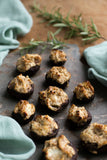 Stuffed Mushrooms with Goats Cheese