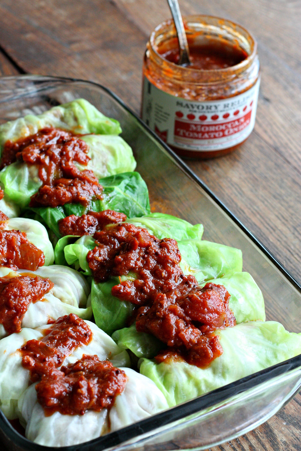 Moroccan Stuffed Cabbage Rolls