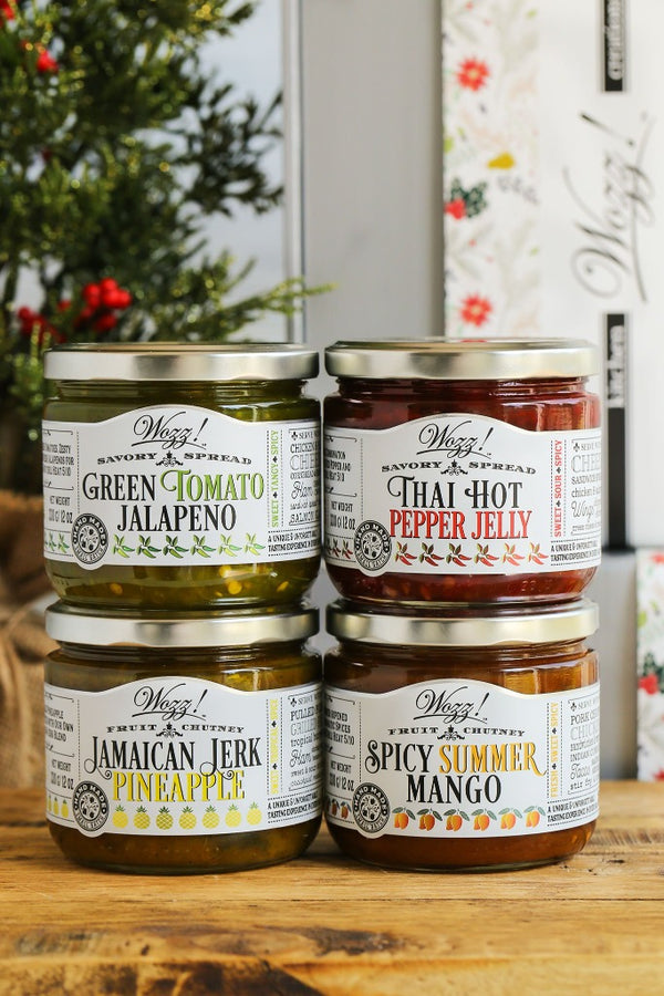 Sweet and Spicy Condiments Gift | Sweet Spicy Condiments | Pepper Jelly Condiment Gifts