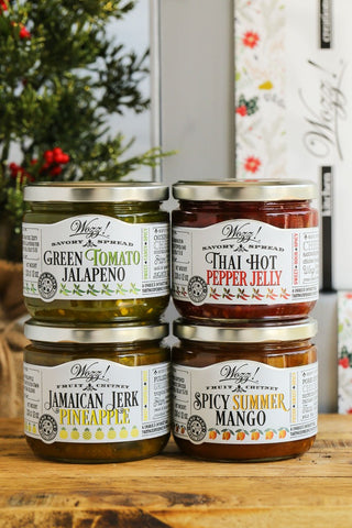 Sweet and Spicy Condiments Gift Set