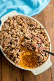 Sweet Potato Casserole with Pecan Crust