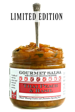 Thai Peach Basil Salsa