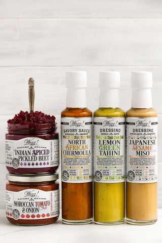 Vegan Sauces and Condiments Set