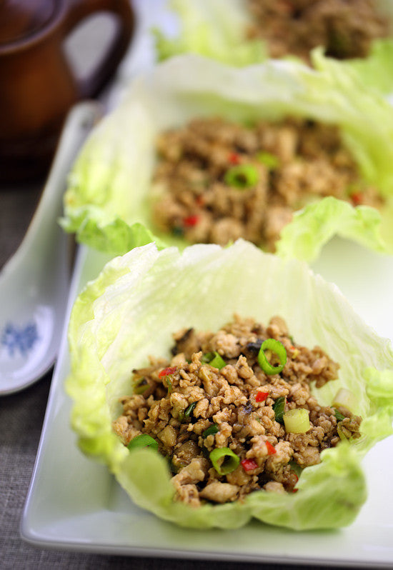 San Choy Bau | Asian Pork Lettuce Wraps