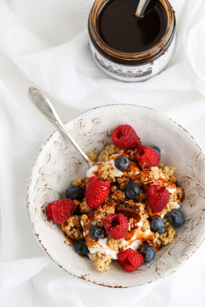 Yogurt and Granola with Toffee Sauce | Wozz! Kitchen Creations