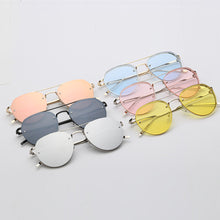 Load image into Gallery viewer, Metal Frame Sunglasses | Classic Tone Mirror