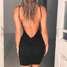 Load image into Gallery viewer, Sexy Strappy Backless Mini Dress