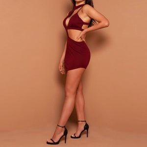 Sexy Bandage Bodycon | Backless Club Dress