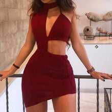 Load image into Gallery viewer, Sexy Bandage Bodycon | Backless Club Dress