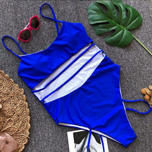 Load image into Gallery viewer, Bandage One-piece Swimsuit