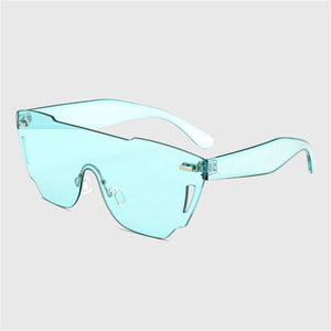 Frameless Candy Tinting Sunglasses