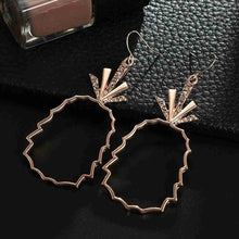 Load image into Gallery viewer, Bohemia Pineapple Hollow Earrings