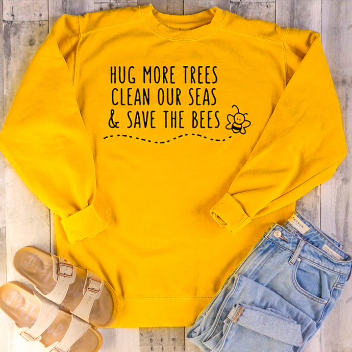 Trees, Seas, & Bees Sweatshirt