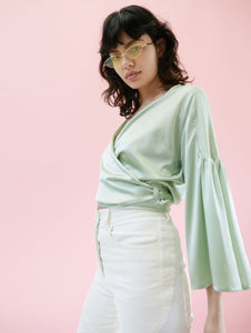 Dynasty Blouse Mint