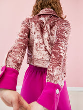 Load image into Gallery viewer, Jackie Jacket Lilac Velvet