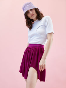 Swirl Skirt Purple