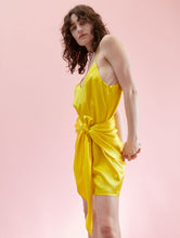 Load image into Gallery viewer, Pompeii Dress Acid Yellow