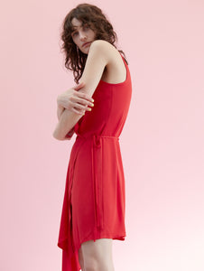 Falling Dress Red