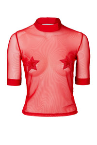 STAR TOP RED