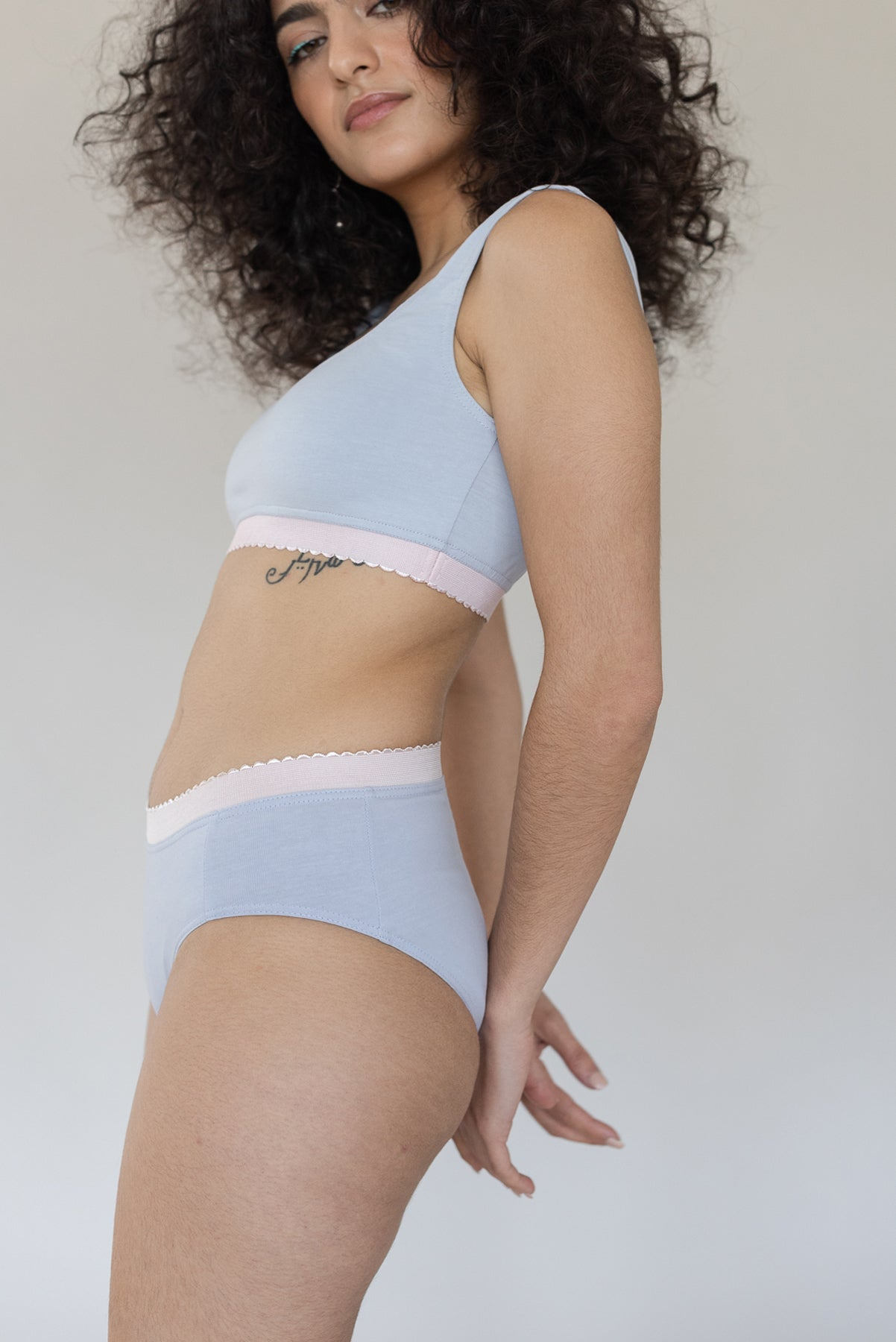 Scallop Brief - Marshmallow