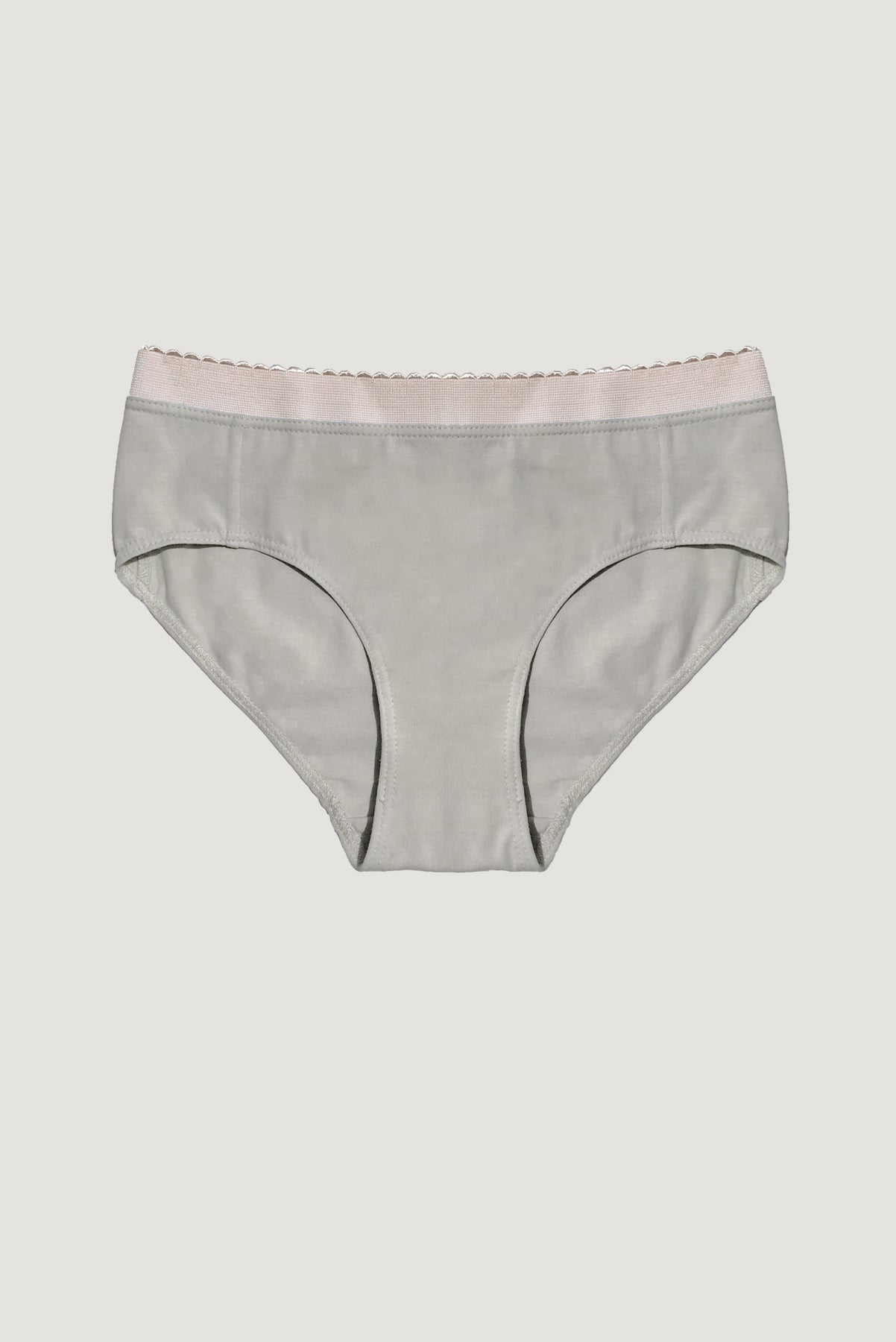 Scallop Brief - Nutmeg
