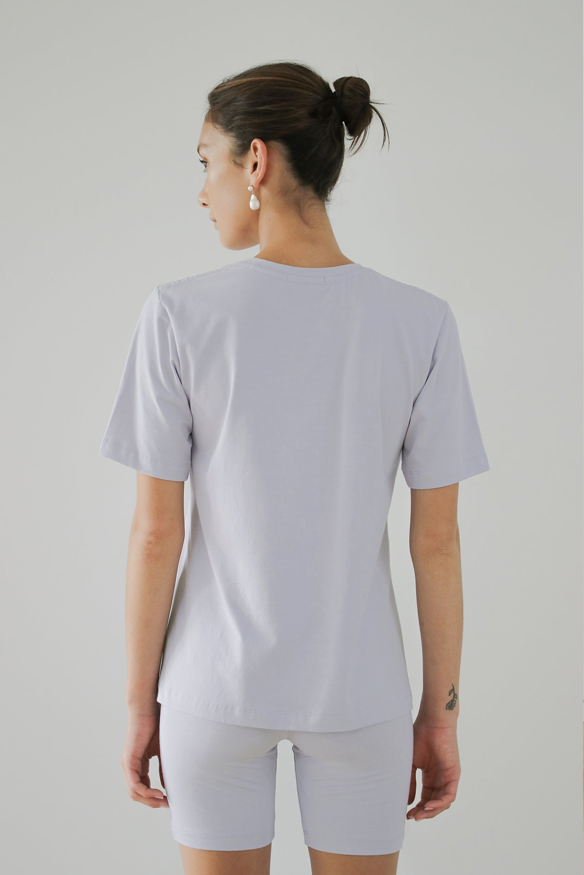 Solar Powered T-shirt - Marshmallow - LOCLAIRE