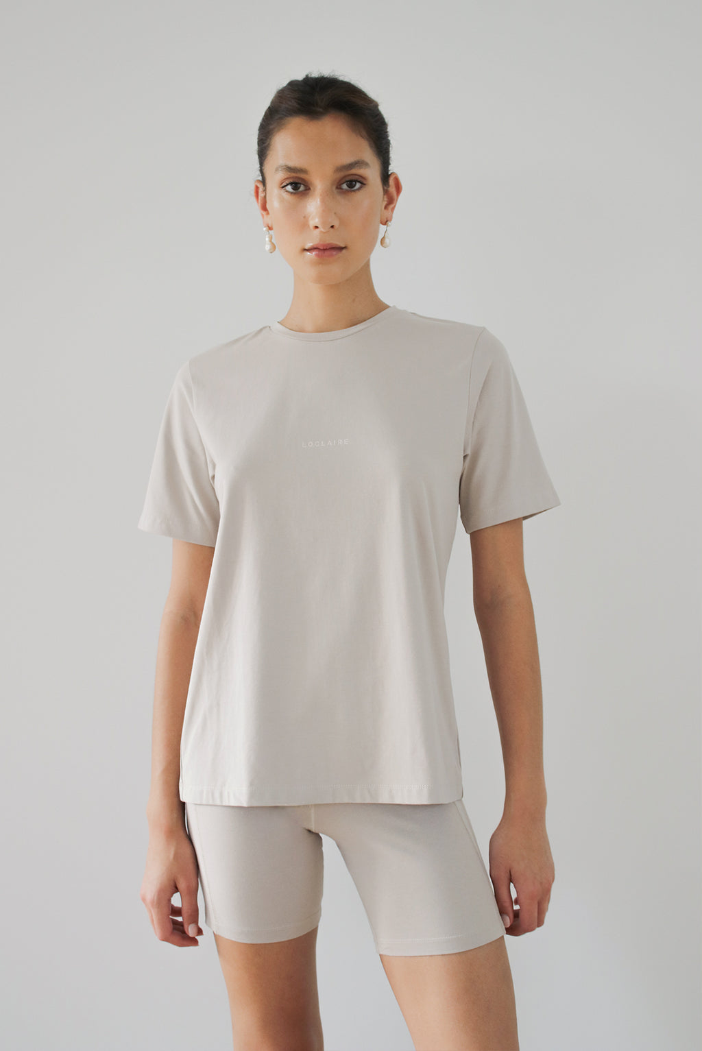 Solar Powered T-Shirt - Nutmeg - LOCLAIRE