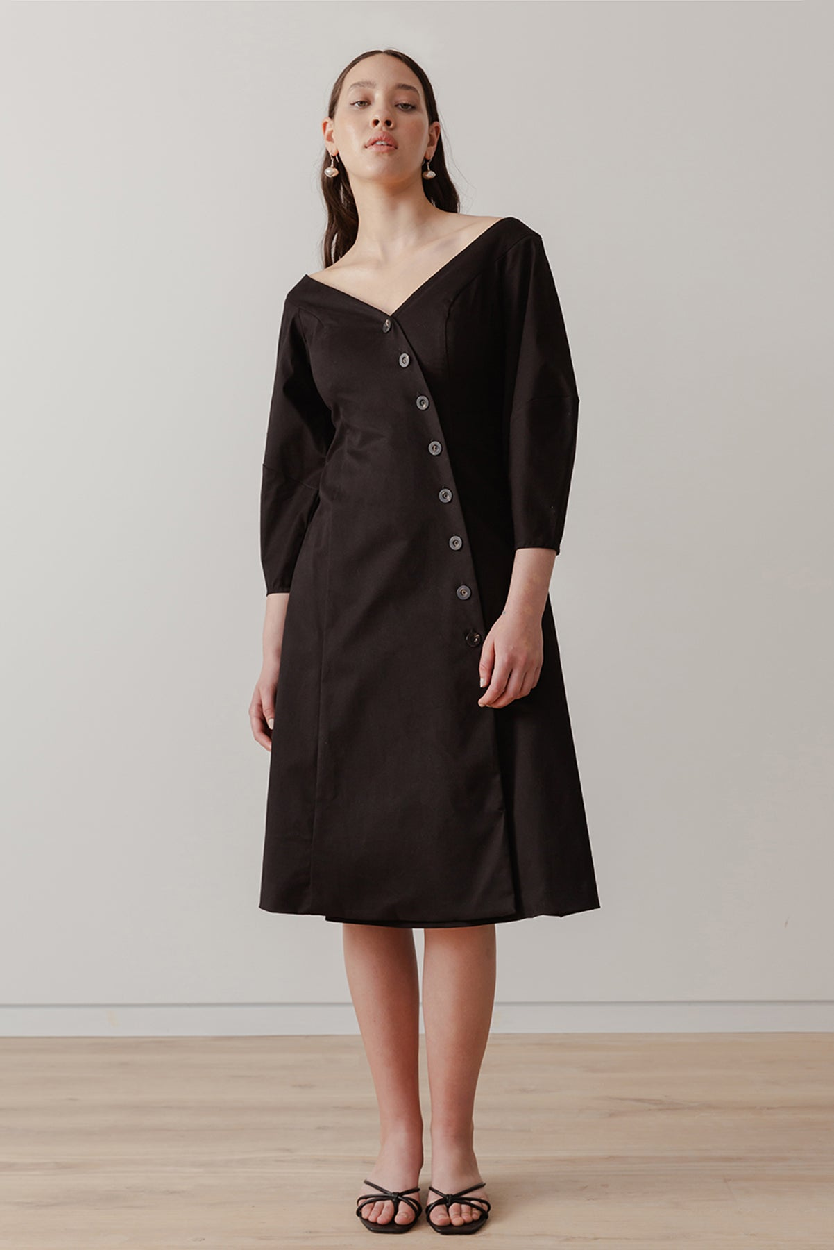 Eclipse Dress - Black - LOCLAIRE