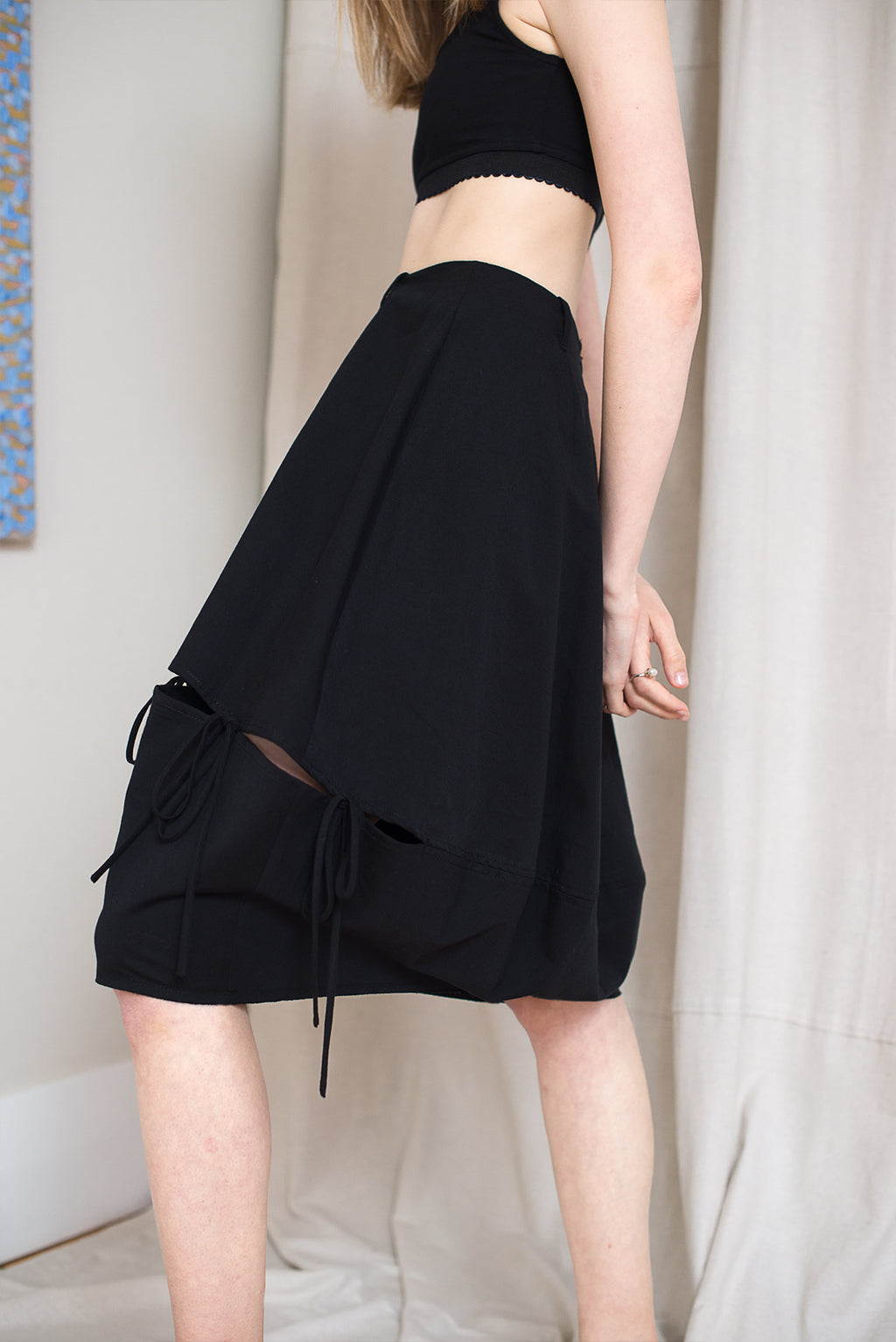Plankton Skirt - Black - LOCLAIRE