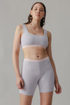 Scallop Bike Short - Marshmallow - LOCLAIRE