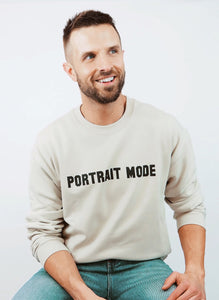 Portrait Mode Crewneck