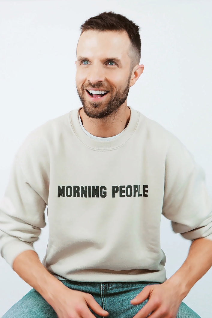 Morning People Crewneck